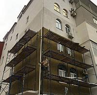 Будівельні рамні риштування комплектація 12 х 12 (м), фото 1
