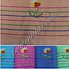 Махровое банное полотенце Ромашка
