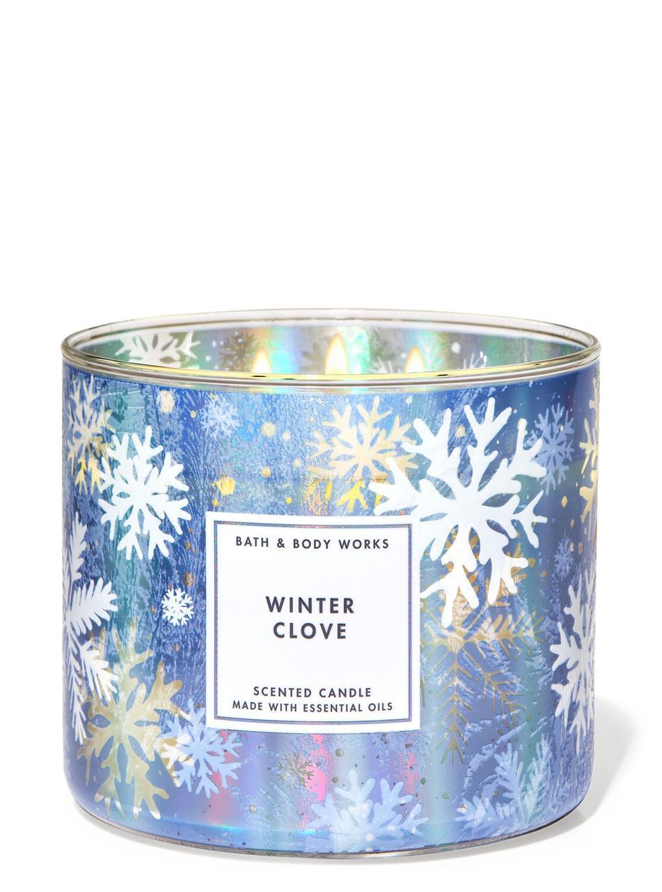 Свеча ароматизированная Bath and Body Works Winter Clove Scented Candle