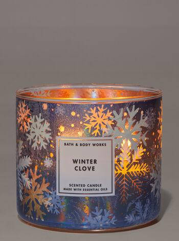 Свеча ароматизированная Bath and Body Works Winter Clove Scented Candle, фото 2
