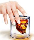 Стакан для виски Череп | Стакан с двойным дном | 3D стакан для напитков, фото 6