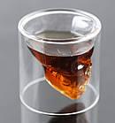 Стакан для виски Череп | Стакан с двойным дном | 3D стакан для напитков, фото 2
