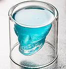Стакан для виски Череп | Стакан с двойным дном | 3D стакан для напитков, фото 9