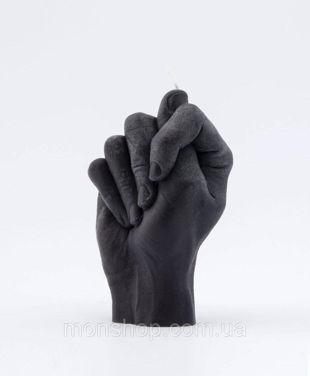 Свеча в виде руки Фига (цвет на выбор)
