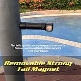 Налобный фонарь SKILHUNT H04 RC + Магнитная зарядка (1200LM, Cree XM-L2 LED, IPX8, Магнит, NW, TIR оптика), фото 7