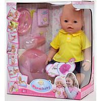 Детская кукла-пупс Baby Born 8006-410, 8 функций, высота 42 см