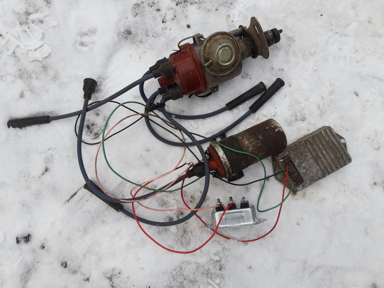 Запалювання безконтактне старого зразка Газель Соболь Волга ГАЗ ЗМЗ 402 дв