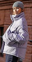 Зимняя куртка Николь без капюшона с сумкой 42-48 р, фото 3