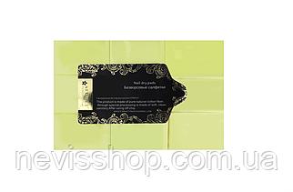 Салфетки безворсовые Starlet Professional, 6х4 см, 800 шт., цвет желтый