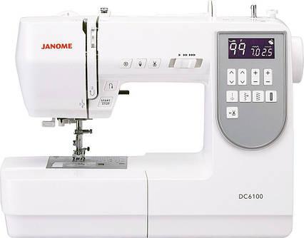 Швейная машинка компьютеризированная Janome DC6100