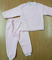 Костюм-пижама теплая велсофт р.86
