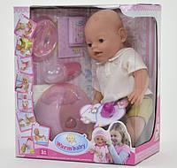 Детская кукла-пупс Baby Born 8006-419, 8 функций, высота 42 см