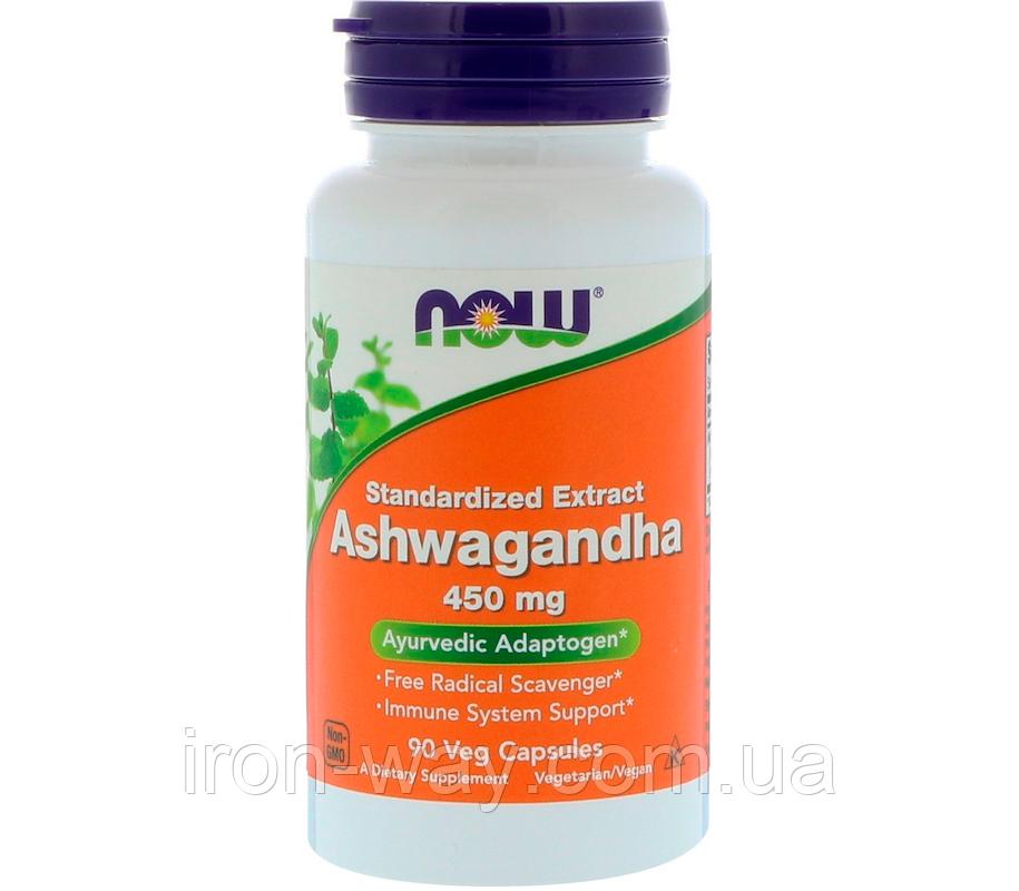 NOW Ashwagandha 450 mg 90 veg caps