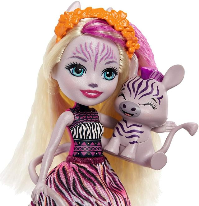 Enchantimals Zadie Zebra doll