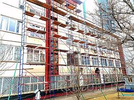 Будівельні ліси клино-хомутові комплектація 2.5 х 3.5 (м)