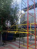 Будівельні ліси клино-хомутові комплектація 12.5 х 17.5 (м)