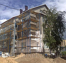 Строительные леса рамные лрсп фасадные, фото 2