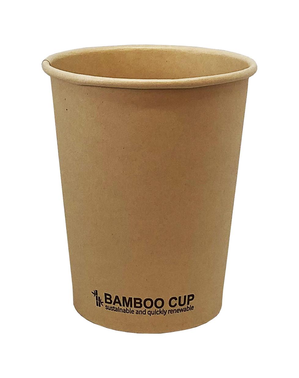 Бамбуковые стаканчики оптом. Объем 270 мл.