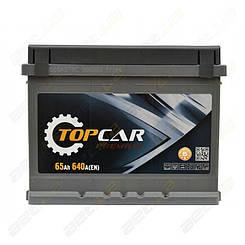 Автомобильный аккумулятор TOP CAR Premium 65Ah L+ 640A