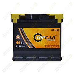 Аккумулятор автомобильный TOP CAR Profi 44Ah L+ 390A