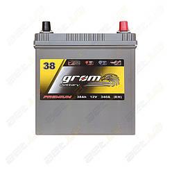 Аккумулятор Grom Battery 38Ah 340A JR+ (EN)