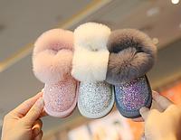 Дитячі зимові чоботи для дівчаток / детские зимние сапоги, детская обувь для малышей, детская обувь на мягкой
