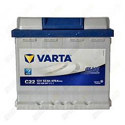 Аккумулятор Varta Blue Dynamic 52Ah R+ 470A
