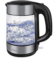 Электрический чайник DSP 1119 стеклянный, фото 1
