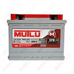 Аккумулятор Mutlu SFB Technology (Ser3) 63AH L + 600A