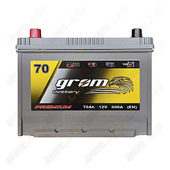 Аккумулятор Grom Battery 70Ah 600A JL+ (EN)