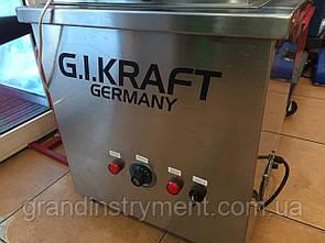 Новая ультразвуковая ванна 400x300x250мм 500W G.I. KRAFT Германия GI20201
