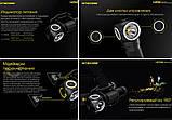 Nitecore UT32 налобный фонарь (Cree XP-L2 V6*2, 3000k/5700k Теплый и Холодный свет, IPX8, 12 режимов, 1*18650), фото 5