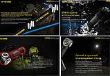 Nitecore UT32 налобный фонарь (Cree XP-L2 V6*2, 3000k/5700k Теплый и Холодный свет, IPX8, 12 режимов, 1*18650), фото 7