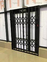 Раздвижные решетки на двери металлические Одесса
