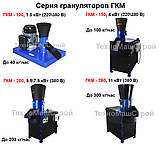 Гранулятор ГКМ-100 (380V), до 40 кг\час, фото 6