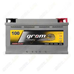 Аккумулятор Grom Battery 100Ah R+ 850A (EN)