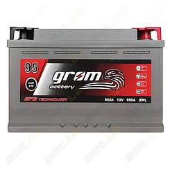 Аккумулятор Grom Battery 95Ah 950A R+ (EN) EFB