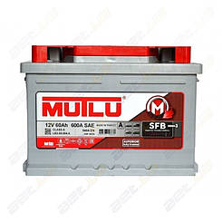 Аккумулятор Mutlu SFB Technology (Ser3) 60AH R+ 540A (низкобазовый)