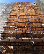 Строительные леса рамные комплектация 14 х 12 (м), фото 3