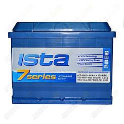 Аккумулятор автомобильный Ista 7 series 60Ah R+ 570A (EN)