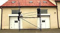 Будівельні риштування клино-хомутові комплектація 2.5 х 7.0 (м), фото 1
