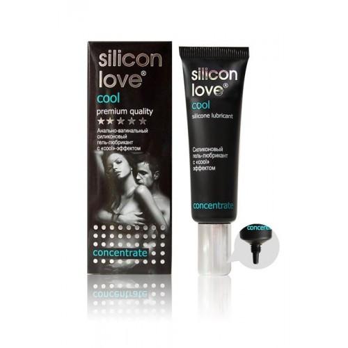 Смазка интимная гель SILICON LOVE COOL 30 г  охлаждающая силиконовая лубрикант