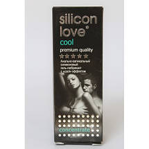 Смазка интимная гель SILICON LOVE COOL 30 г  охлаждающая силиконовая лубрикант, фото 3