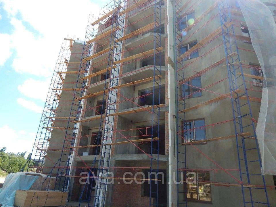 Будівельні риштування клино-хомутові комплектація 10.0 х 3.5 (м)