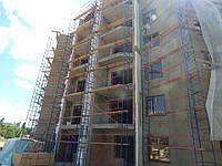 Будівельні риштування клино-хомутові комплектація 10.0 х 3.5 (м), фото 1