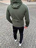 Мужской спортивный костюм, XL, фото 2