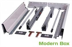 GTV MODERN BOX B средний 146мм, серый L-500 (PB-D-KPL500B)