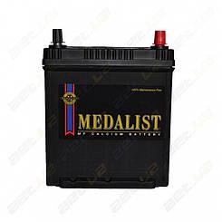 Аккумулятор автомобильный Medalist (42B19FL) 40Ah JR+350A (тонкая клемма)