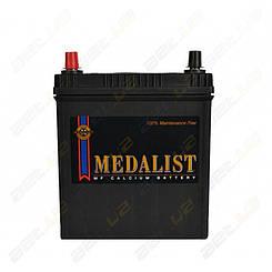 Аккумулятор автомобильный Medalist (42B19R) 40Ah JL+ 350A(тонкая клемма)