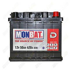 Аккумулятор Monbat D 50Ah R+ 420A